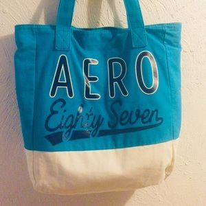 ☀️🐘🌜Large Aeropostale Canvas Tote